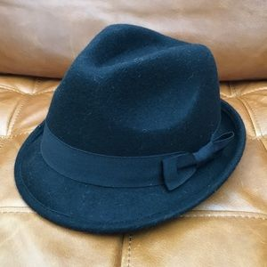 "Wool Fedora. An ""Original Penguin"" design."